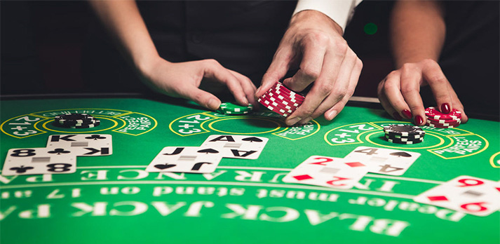 blackjack card counting device
